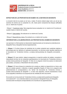 Geografía - Universidad de La Rioja