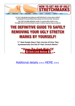 Link How to get rid of ugly stretch marks 80pl