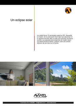 Un eclipse solar
