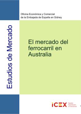2012 Ferrocarril en Australia