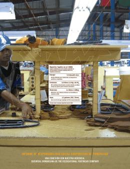 informe de responsabilidad social corporativa de timberland