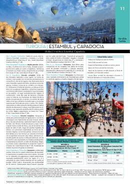 TURQUÍA | ESTAMBUL y CAPADOCIA