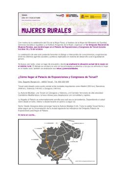 ¿Cómo llegar al Palacio de Exposiciones y Congresos de Teruel?