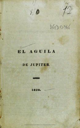 El aguila de Jupiter. - Actividad Cultural del Banco de la República