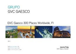 Presentación - GVC Gaesco Gestión