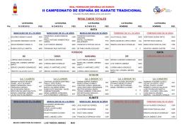 2 - Real Federación Española de Karate