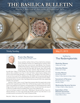 The Redemptorists