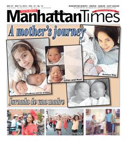 Jornada de una madre - Manhattan Times News