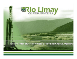 Three exploratory Wells - Rio Limay Oil Field Services SA
