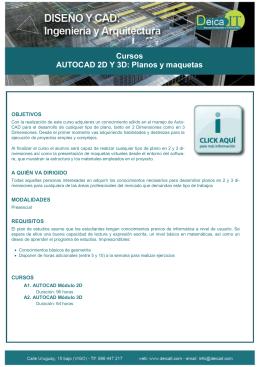 AutoCAD 2D y 3D. Planos y Maquetas pdf