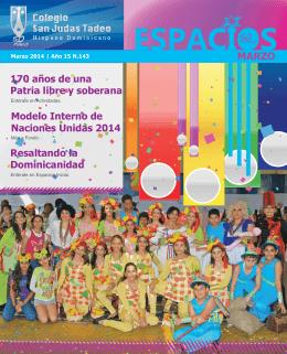 Marzo 2014 - Colegio San Judas Tadeo