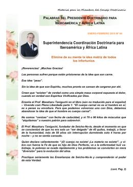 Superintendencia Coordinación Doctrinaria para Iberoamérica y