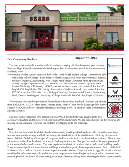 August 14, 2015 - Brewster School District