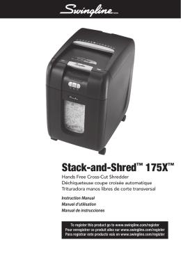 1650 Swingline 175X Shredder US Manual.indd