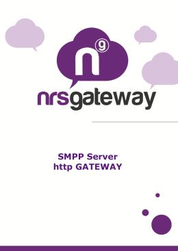 SMPP Server http GATEWAY