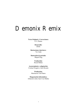 Demonix Remix