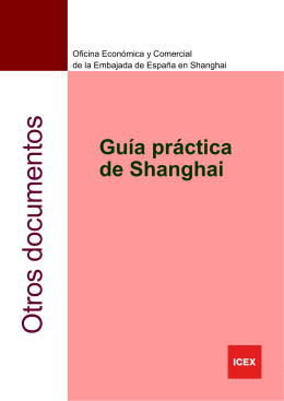 Guía práctica de Shanghai