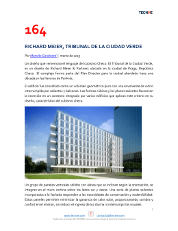 164 richard meier, tribunal de la ciudad verde