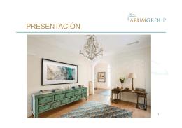 Presentación Arum