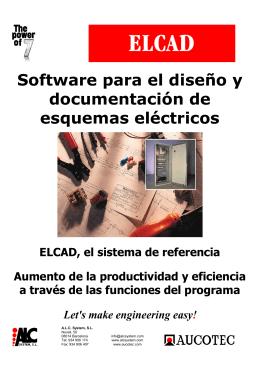 ELCAD - Información de las prestaciones
