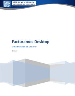 Facturamos Desktop