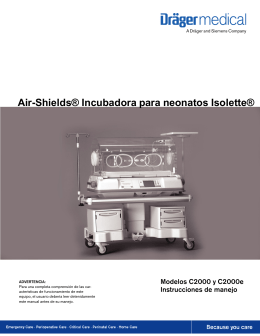 Air-Shields® Incubadora para neonatos Isolette®