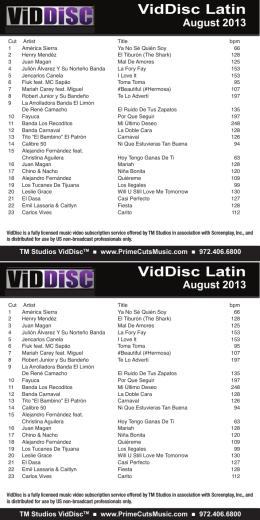 VidDisc Latin VidDisc Latin