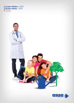 Cuadro Médico • 2015 Quadre Mèdic • 2015 Lleida