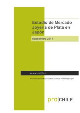 Estudio de Mercado Joyería de Plata en Japón