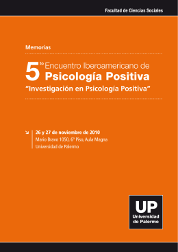 5º Encuentro - Universidad de Palermo