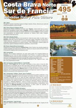 Costa Brava Norte - Sur de Francia