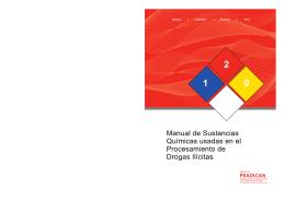 Manual de Sustancias Químicas usadas en el Procesamiento de