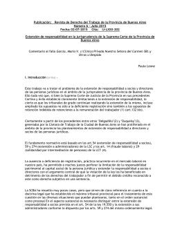 Revista de Derecho del Trabajo de la Provincia de Buenos Aires