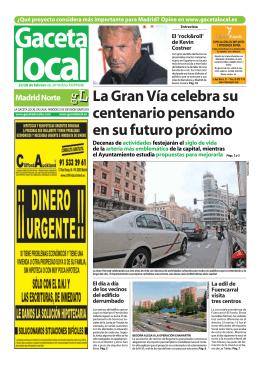 Gacetas Locales de Madrid
