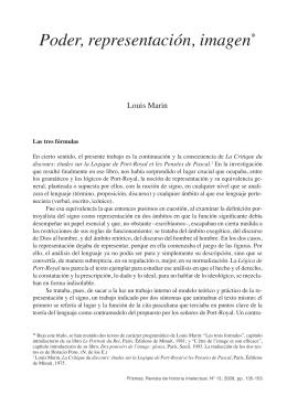 5.1. Marin, Louis - Poder, representación, imagen