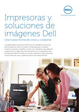 Impresoras y soluciones de imágenes Dell
