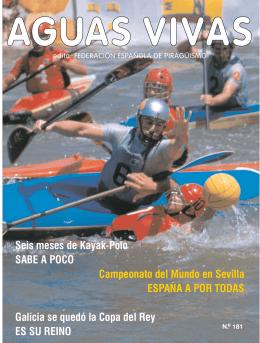 Seis meses de Kayak-Polo SABE A POCO Campeonato del Mundo