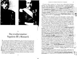 16 Napoleon y Bismark, Kissinger