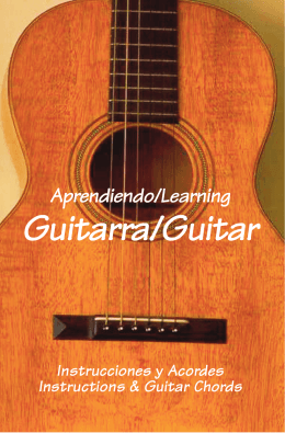 Guitar Book Text - Manantial de Aguas Vivas