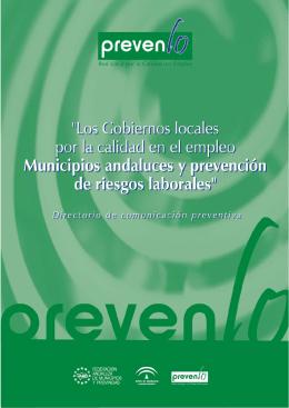 DIRECTORIO CD.qxp - Federación Andaluza de Municipios y