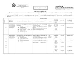 Instrucción Premilitar - Colegio Iberoamericano