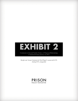 EXHIBIT 2 - Prison Policy Initiative