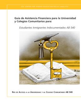 Estudiantes Inmigrantes Indocumentados AB 540