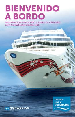 BIENVENIDO A BORDO - Norwegian Cruise Line (NCL