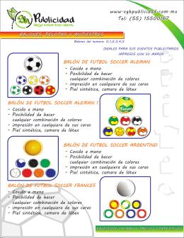 catalogo pelotas balones y antiestres