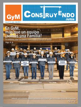 En GyM, más que un equipo ¡somos una Familia!