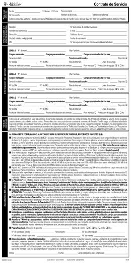 Contrato de Servicio - T