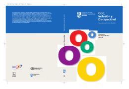 Ocio, Inclusión y Discapacidad - Publicaciones Universidad de Deusto