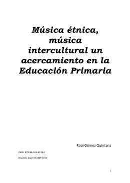 Música étnica, música intercultural un acercamiento en