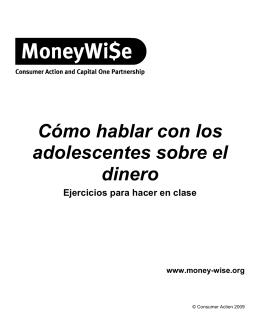 Cómo hablar con los adolescentes sobre el dinero
